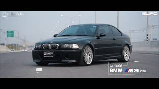 BMW E46 M3 CSL by H.Drive motor sport