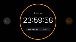 Setting a timer for 24 hours for no reason... and a stopwatch screenshot 2