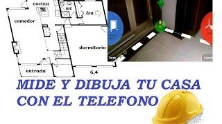 gratis app para medir y crear planos de casas arquitectura con telefono