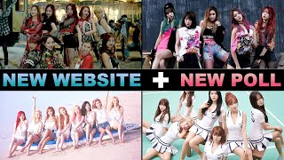 VOTE FOR THE MOST BEAUTIFUL K-POP GIRL GROUP OF 2015!