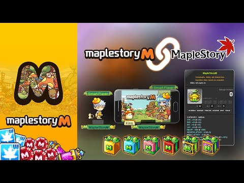MapleStory M] Account PC Link Guide + PC Rewards (GMS/MSEA