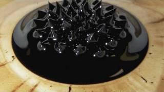 Magnet in Ferrofluid