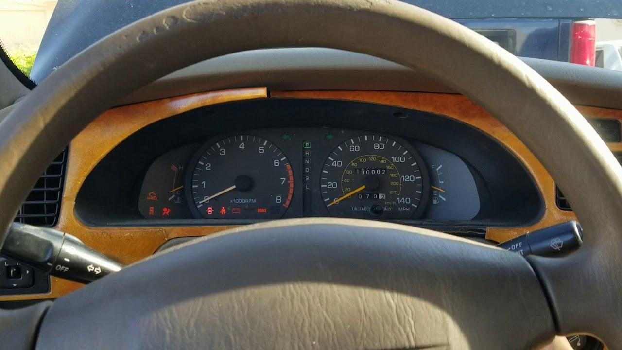 Startup test on 1995 Toyota Camry Code #12 Intermittent start