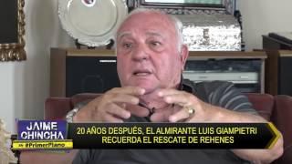 Primer Plano - ABR 21 - Parte 2/5 - 20 EL ALMIRANTE GIAMPIETRI RECUERDA EL RESCATE DE REHENES