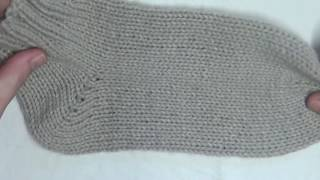 How to Knit Socks for Beginners  Part 1of 3