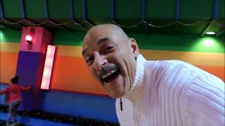 Detroit Dog Whisperer Roller Skates To Country Music - Dog Whisperer Big Chuck Mcbride