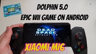 Exclusive First Android Gameplay Dead Space: Extraction Wii Game Dolphin Xiaomi Mi6/Snapdragon 835