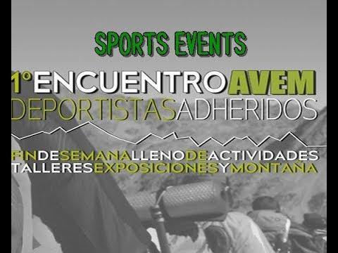 SPORTS EVENTS. 1er ENCUENTRO AVEM