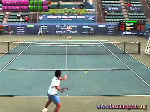 2012BUSANOPEN SINGLES Semi-Final 3set part1