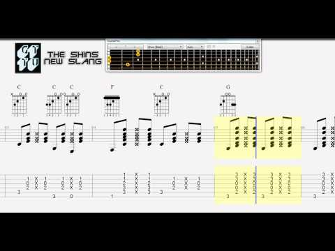 Learn How to Play New Slang by The Shins Guitar TABS & CHORDS