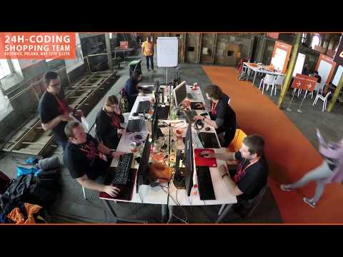 24H-CodING hackathon in Katowice - Shopping Team