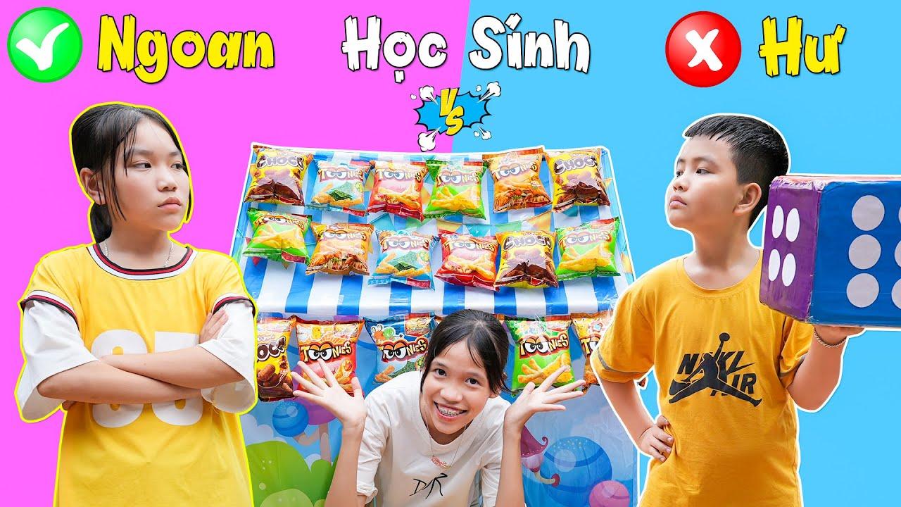 Học Sinh Ngoan - Học Sinh Hư & Cuộc Chiến Pokemon ♥ Min Min TV Minh Khoa