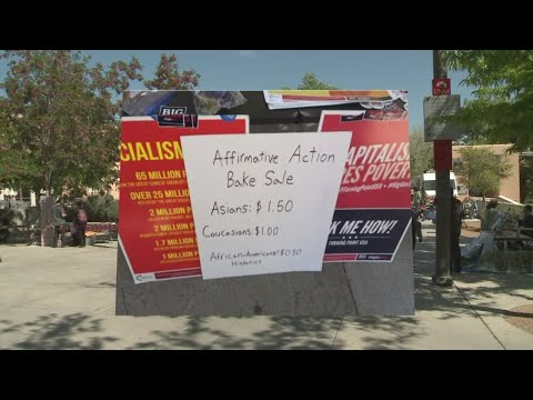 Bake sale on UNM's campus charges students based on their race