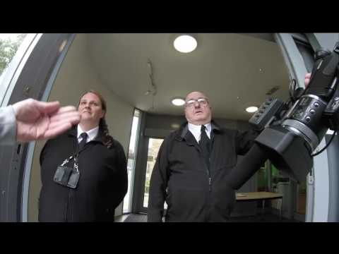 Knowsley Council's Security Guards block entry to Public Council meeting