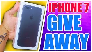 iPhone 7 Giveaway | MASSIVE NEW IPHONE 7 MATTE BLACK 256GB COMPETITION!