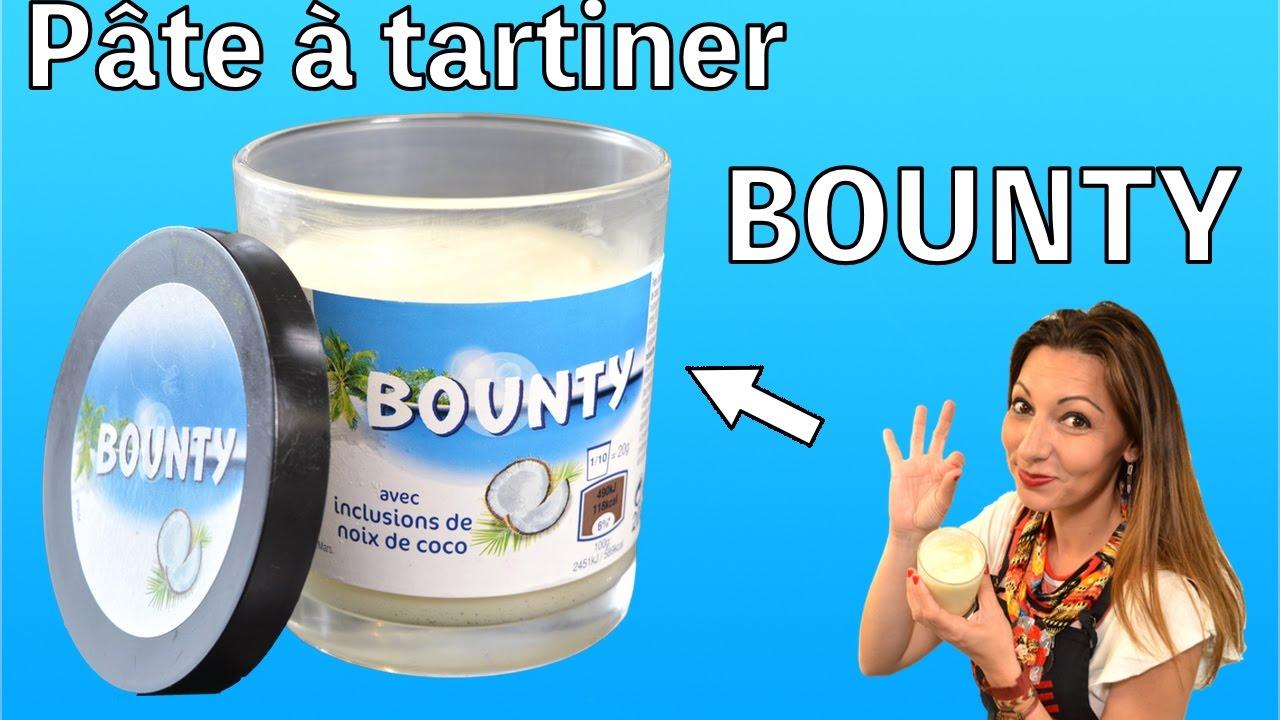 faire sa p te tartiner bounty recette au thermomix youtube. Black Bedroom Furniture Sets. Home Design Ideas