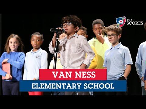 Van Ness Elementary School performs at the 2019 Eastside Poetry Slam