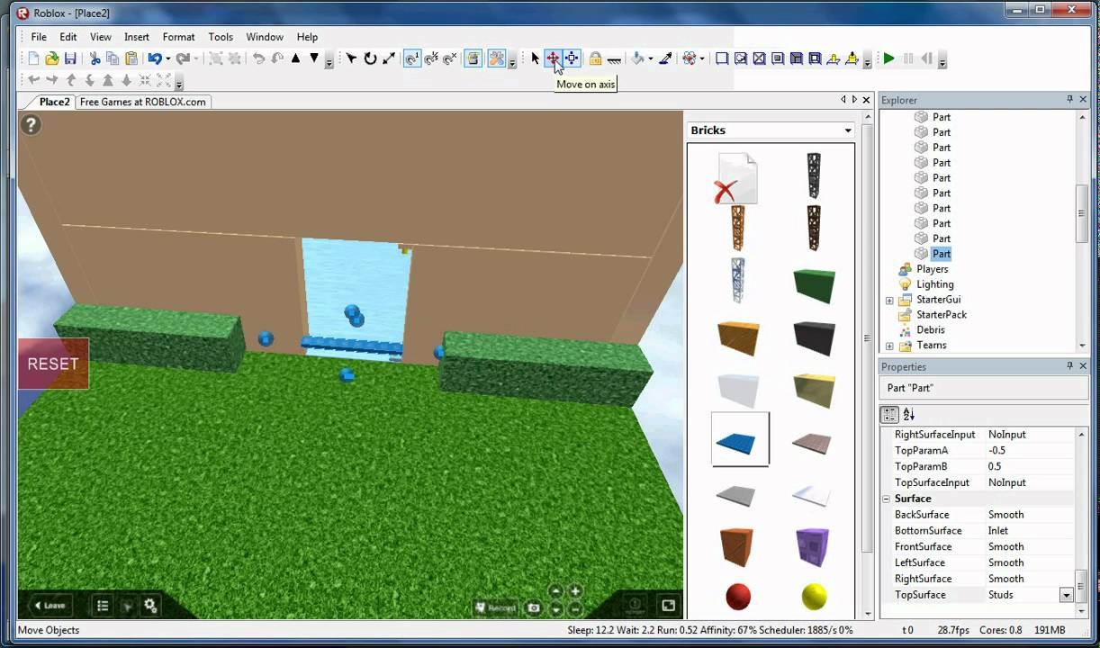 How To Make A Swinging Door On Roblox Youtube