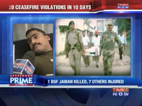 BSF personnel killed, several injured in Pakistan firing