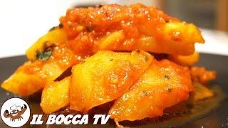 524 - Zucchine spinose al pomodoro..fin da subito le adoro! (contorno vegan facile veloce e gustoso)