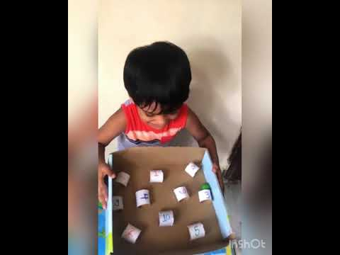 Paper roll game || diy game fo kids ||indoor fun game ||game for kids