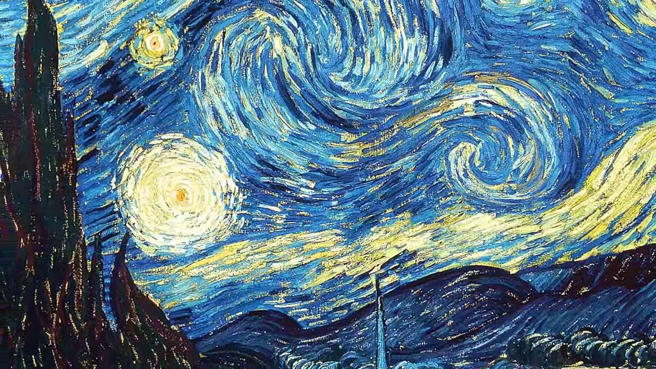 van gogh starry night painting analysis