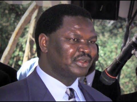 Nyenze asked his family to 'release him' a day before he died
