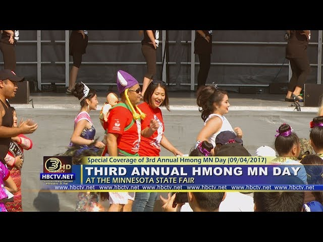 3HMONGTV EHOUR: Part 3 - Third Annual Hmong MN Day at the MN State Fair.