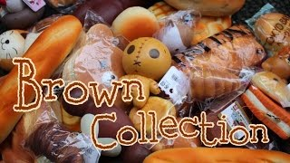 MY BROWN SQUISHY COLLECTION! By : Salma Dumadi