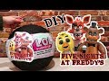 Customized LOL Big Surprise DIY with Five Nights at Freddy's Toys and Dolls - FNAF