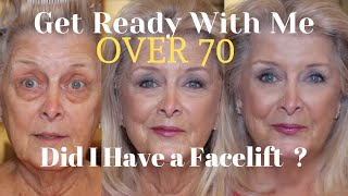 Chatty GetReadyWithMe ~ DID I HAVE A FACELIFT? ~ OVER 70~ SHOUTOUT
