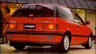 Mitsubishi Lancer advert 1989 New Zealand