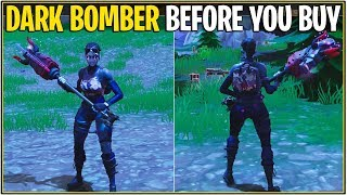*NEW* DARK BOMBER SKIN, TOOL, AND GLIDER SHOWCASE! | (Fortnite Battle Royale)