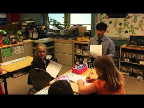 Chinese Lessons with Grand River Academy's students from China