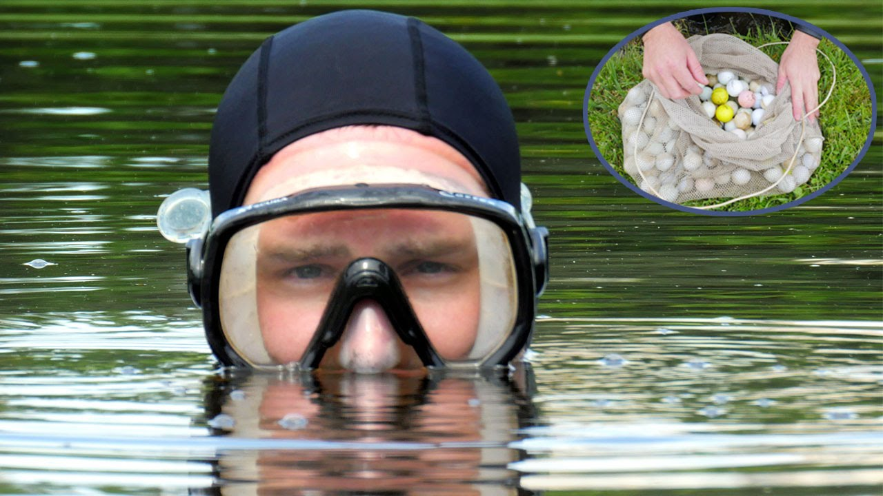 man makes 15 million during career as golf ball diver youtube
