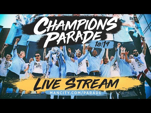 LIVE | MANCHESTER CITY TROPHY PARADE