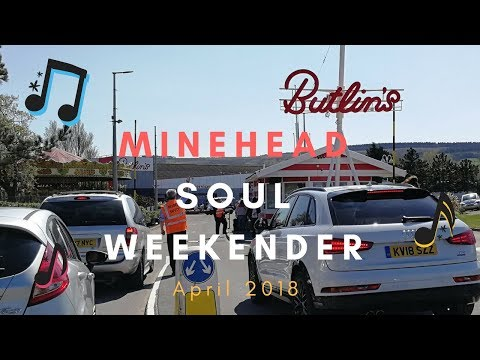 Butlins Minehead Soul Weekender April 2018
