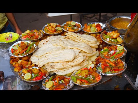 Best Street Foods in Delhi | Satisfying Video | Best Indian Street Food