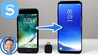 iPhone Transfer to Galaxy S8 With Samsung Smart Switch (2017)