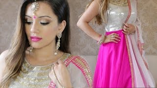 Sangeet Get Ready With Me | Kaushal Beauty