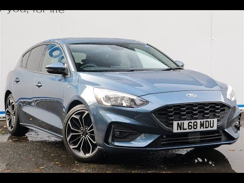 Used Ford Focus 1 5 Ecoblue 120 St Line X 5dr Auto Hatchback