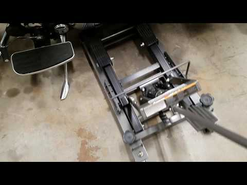 Harbor freight motorcycle ATV lift jack review