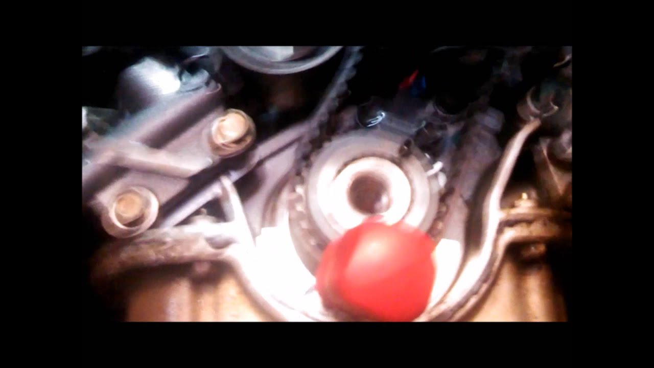 timing belt replacement water pump 2005 kia sedona 3 5l v6 part 3 rh youtube com