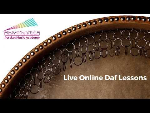 Live Online Daf Lessons @Rhythmitica Music Academy