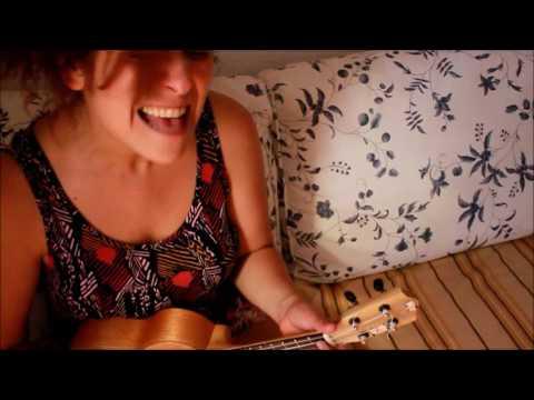 Gisela Kinki Orlandini y Cale Rodríguez probando :P. Me, myself and I (cover)