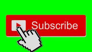 GREEN SCREEN - LIKE SUBSCRIBE AND SOCIAL MEDIA MEGA CHROMA KEY PACK #1