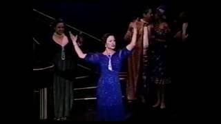 """Christening of the Jerry Herman Ring Theatre featuring Gail Edwards playing, """"Mame."""""""