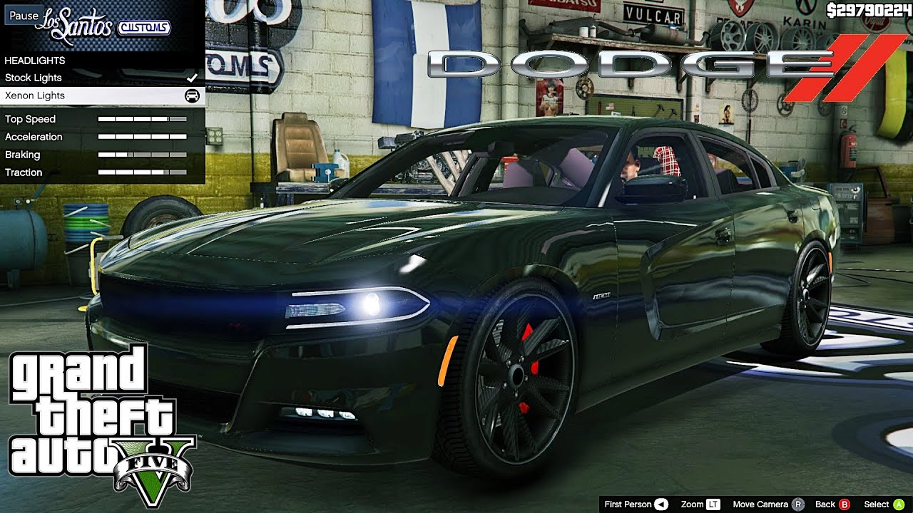 Dodge Charger RT GTA V car mod tuning !! [ Soley911 ...