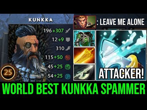 World Best Kunkka You're Ever Seen | Ez Counter MK with Perfect Torrent TOP 1 PRO Kunkka Spammer