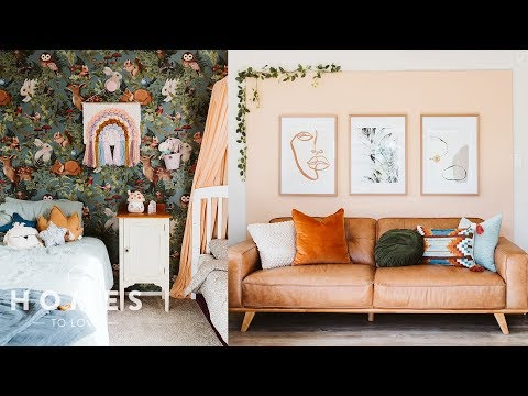 Inside a small family home filled with clever DIY projects | Homes to Love